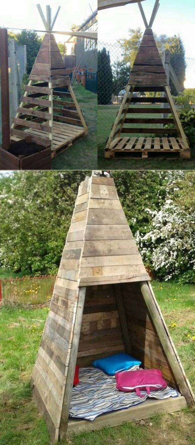 17 Cute Upcycled Pallet Projects for Kids Outdoor Fun ...