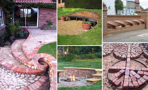 Brick Landscaping Ideas To Increase The Beauty Of Homes Outdoor