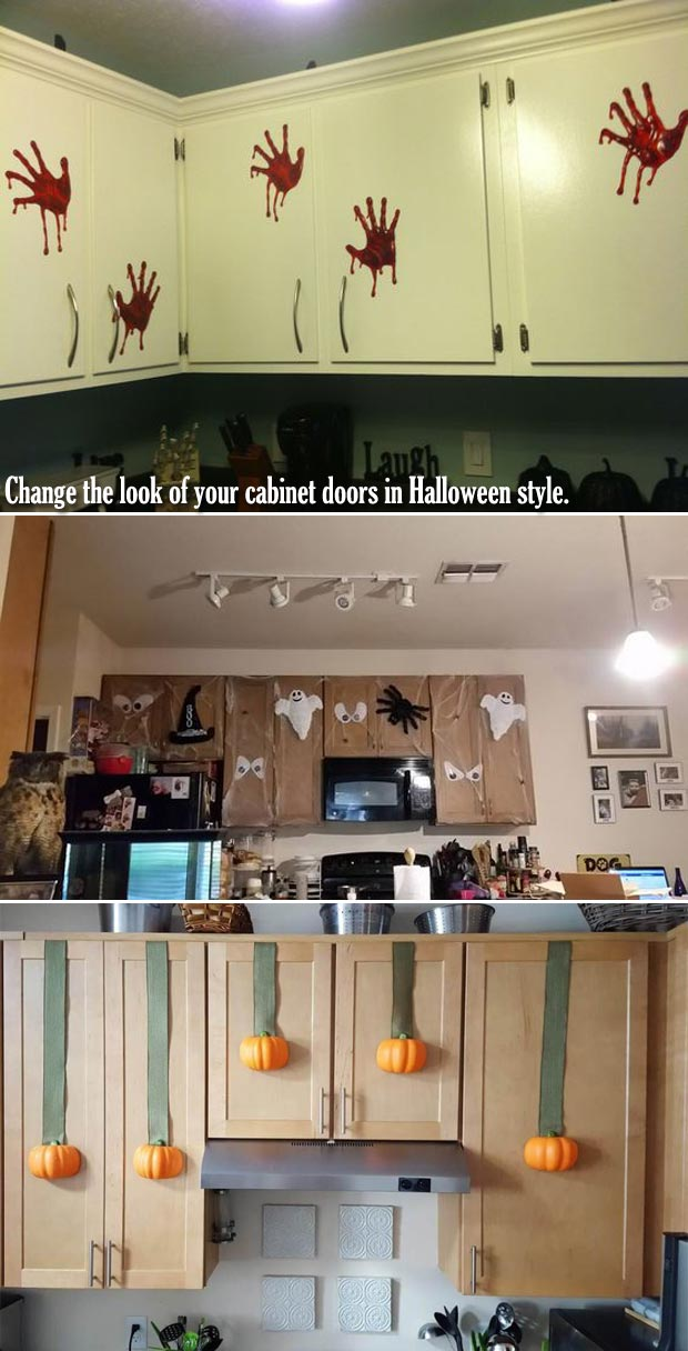 Halloween Ideas To Decorate Your House from proudhomedecor.com