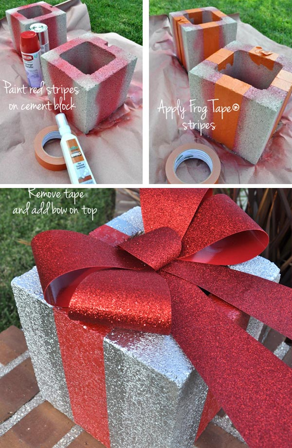 20 Spray Painted Decorations For Christmas Will Save You Money Proud Home Decor