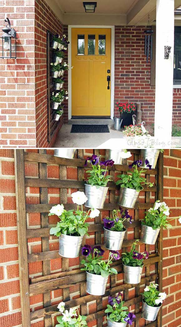 12 Wonderful Diy Planter Ideas For Your Front Porch Proud Home Decor