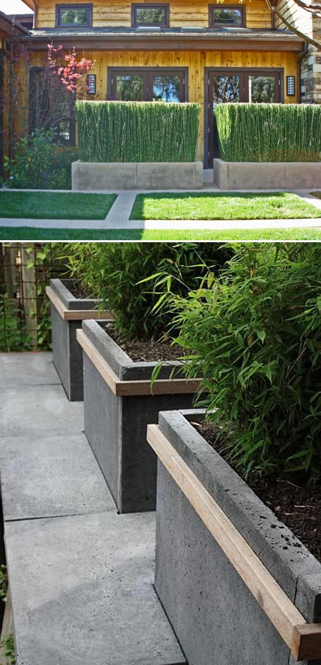 Amazingly Creative Long Planter Ideas for Your Patio ... on Long Patio Ideas id=11568
