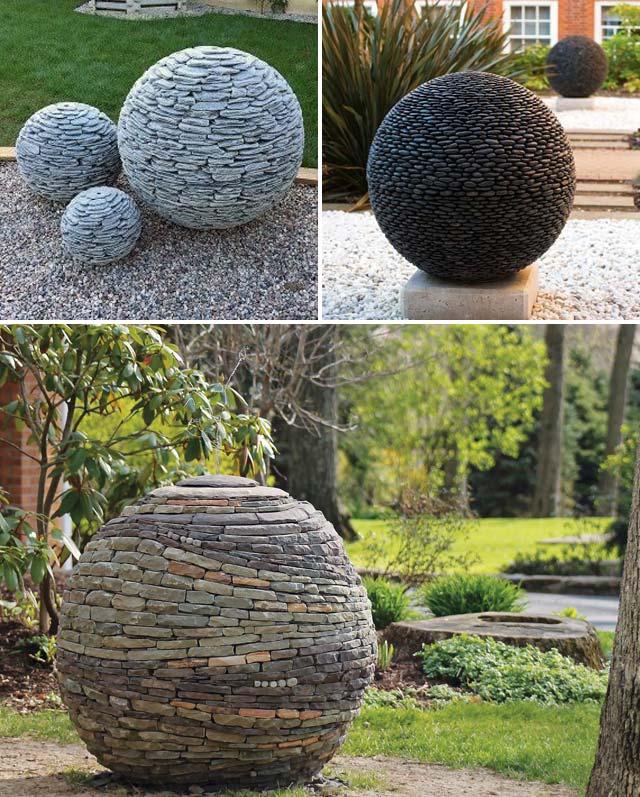 Cool Diy Garden Globes Make Your Garden More Interesting Proud