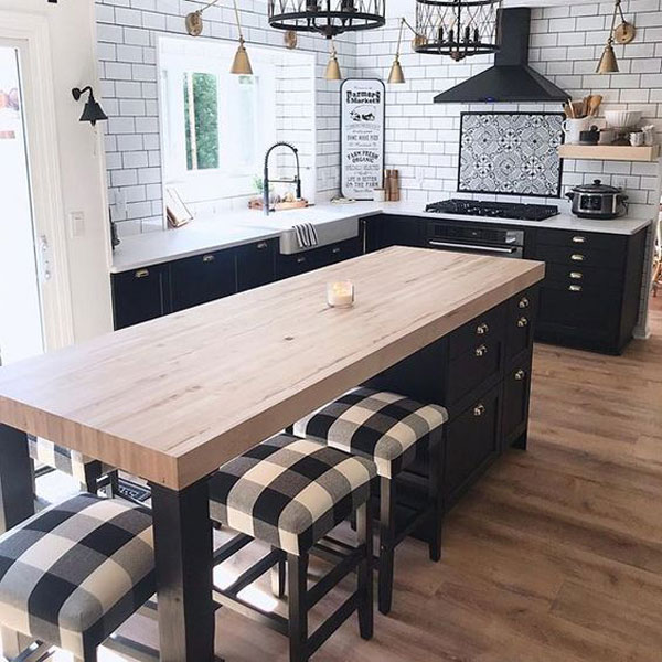 Cool Ways To Style Your Home With Check Pattern Proud Home Decor