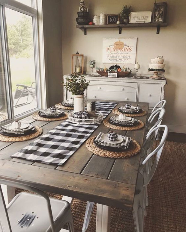 Cool Ways To Style Your Home With Check Pattern Proud
