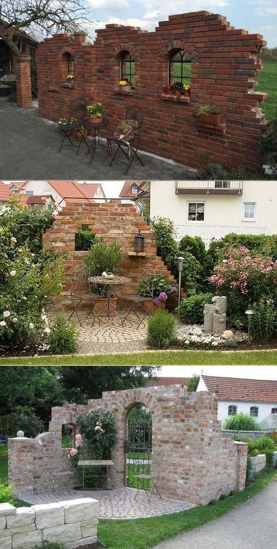 15 Unique Brick Landscaping Ideas You Will Admire Proud Home Decor